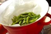 蒸し枝豆の作り方1