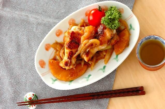 調味料2つ!鶏手羽元のシロップ照り焼き
