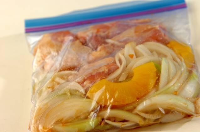 調味料2つ!鶏手羽元のシロップ照り焼きの作り方の手順2