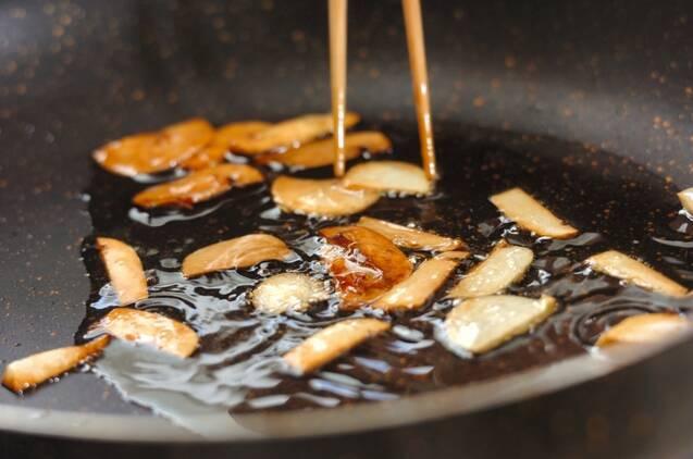 中華風コンニャクステーキの作り方の手順2