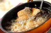 揚げブリの甘辛ダレの作り方1