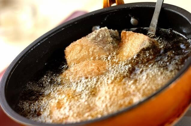 揚げブリの甘辛ダレの作り方の手順3
