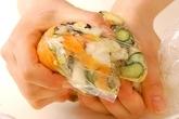 白菜の浅漬けの作り方2