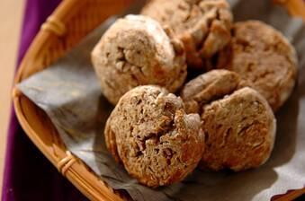 ゆで小豆ときな粉のスコーン