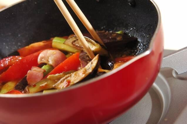 ナスのピリ辛みそ炒めの作り方の手順7