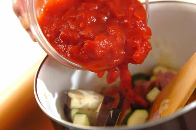 夏野菜のくったり煮の作り方の手順8