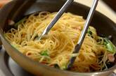小松菜とベーコンのペペロンチーノの作り方3
