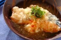 鮭と大根おろしの辛煮