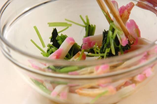 小松菜あんかけチャーハンの作り方の手順6