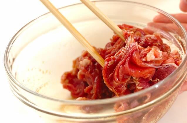 豚とモヤシの中華炒めの作り方の手順1