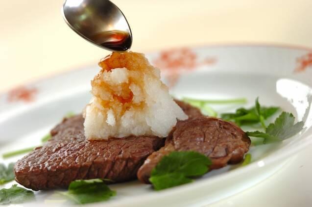 おろしのせステーキの作り方の手順5