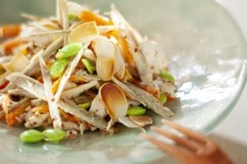 細切り根菜サラダ