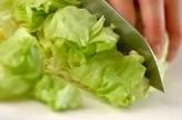 山椒ドレッシングのサラダの作り方2