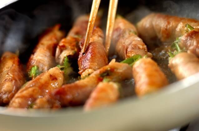 豚肉のチーズネギ巻きの作り方の手順6