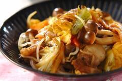 ふんわり卵入り野菜炒め