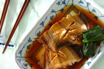 煮崩れしない! カレイの煮魚