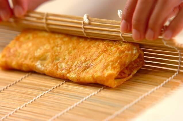 メープルシロップの卵焼きの作り方の手順5