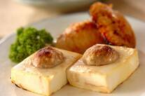 豆腐の肉詰めグリル焼き