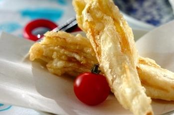 チコリの天ぷら