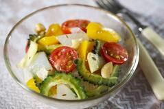 夏野菜の即席アチャール