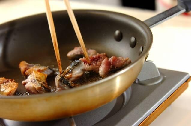 サバとブロッコリーのみそ炒めの作り方の手順3