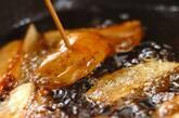 揚げジャガのキムチ煮の作り方3