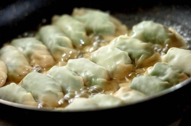 大葉がさわやか!しそ餃子の作り方の手順6