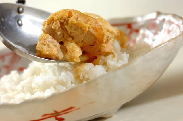親子丼の作り方の手順4