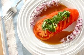 トマトのハニーマスタードサラダ