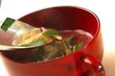 シイタケとニラの中華スープの作り方3