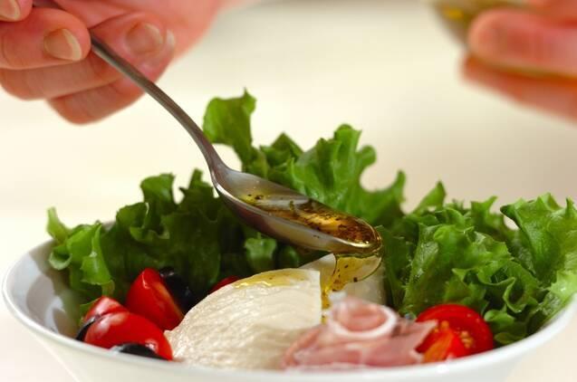 くずし豆腐の洋風サラダの作り方の手順3
