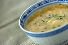 ごま油香る!トロトロ中華卵スープ