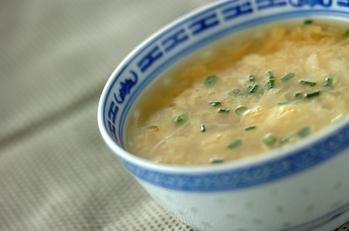 中華卵スープ