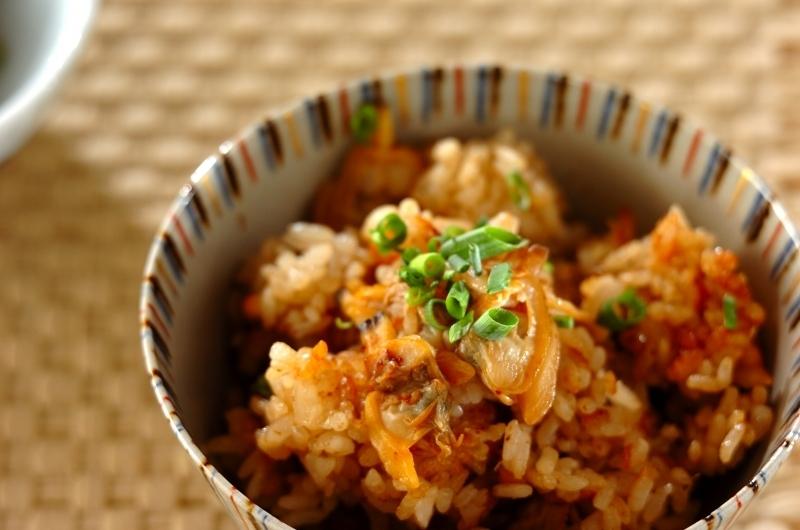 2. あさりの炊き込みご飯