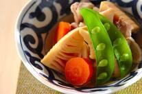 ほっこり タケノコと鶏肉の彩り煮物