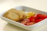 オイルサーディンとジャガイモの食パンカップの下準備2