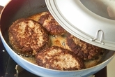 チーズハンバーグの作り方3