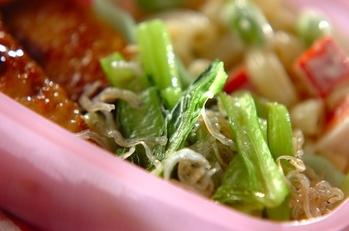小松菜の中華炒め