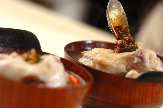 鶏と野菜の韓国風お粥の作り方の手順9