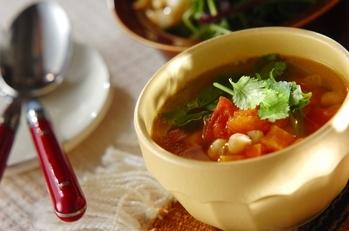 モロッコ風ヒヨコ豆のスープ