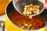 モロッコ風ヒヨコ豆のスープの作り方4