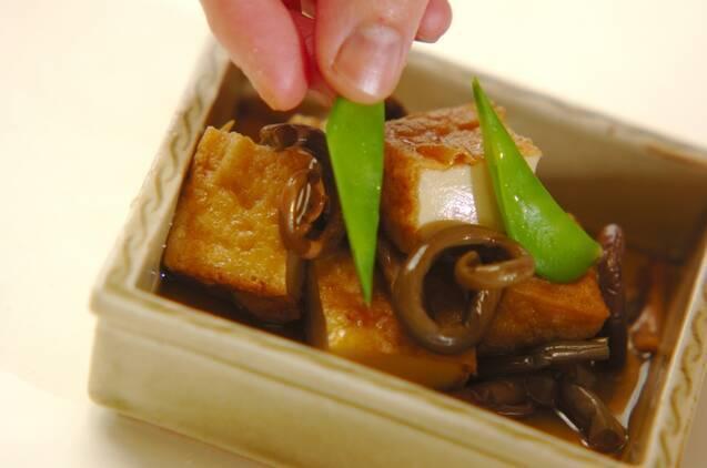 ゼンマイと厚揚げの煮物の作り方の手順5