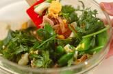 スナップエンドウの卵サラダの作り方3