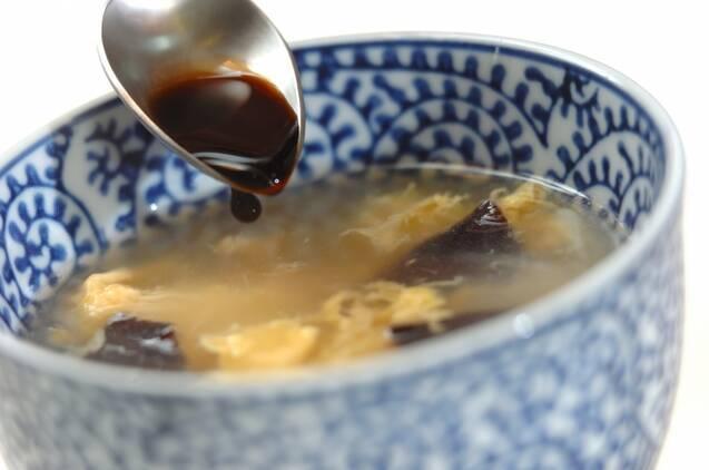 キクラゲと卵の中華スープの作り方の手順3