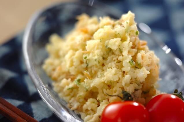 ナメタケのポテトサラダ