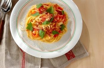 トマトとベーコンのスパゲティー