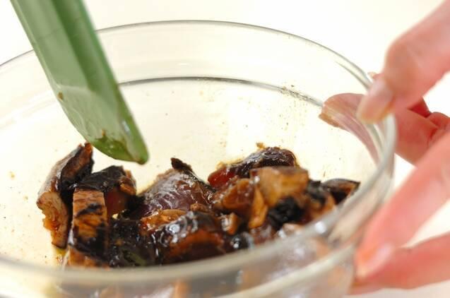ガーリック風味カツオのたたきの作り方の手順2