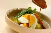 ゆで卵のゴマダレの作り方2