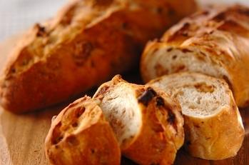 イチジクとクルミのパン