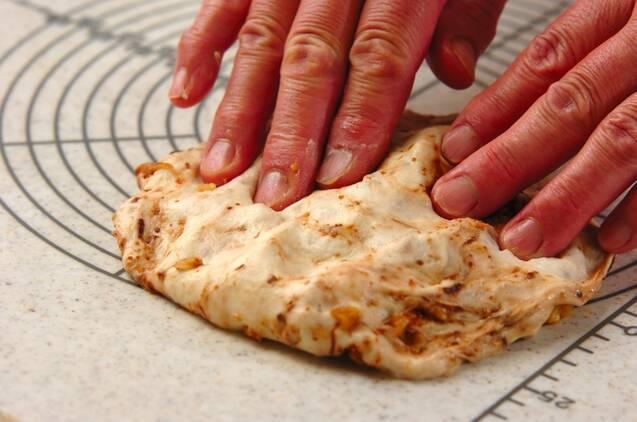 イチジクとクルミのパンの作り方の手順6
